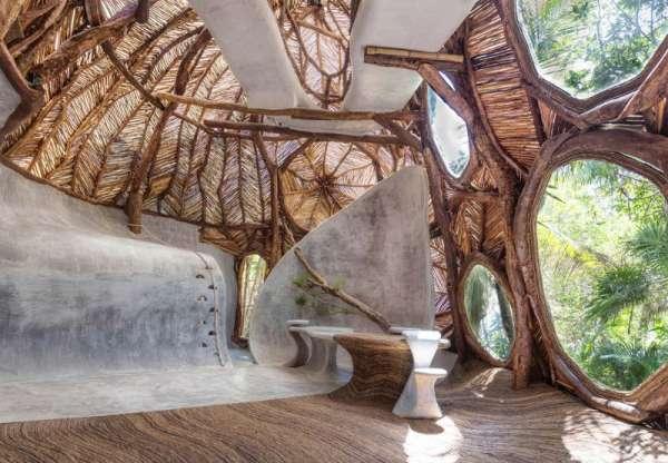 Архитектурное искусство, вдохновленное природными замыслами